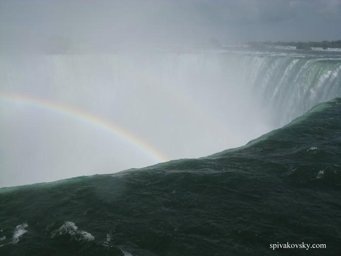 Ihausu Waterfall. Brazil. Argentina. Paraguay
