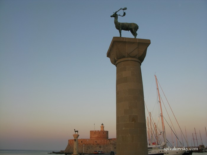 Colossus of Rhodes was here