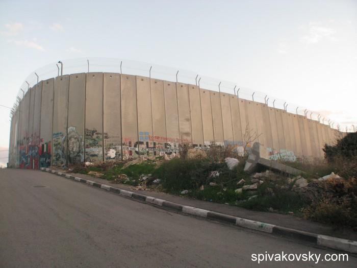 Стена. Палестина