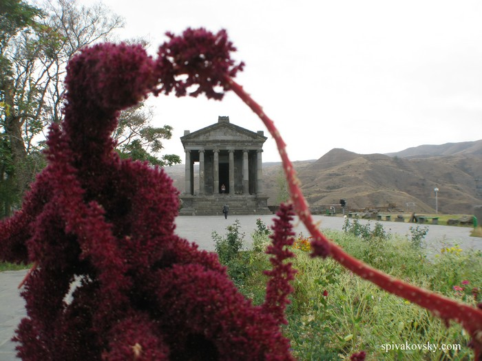 Temple in colors. Armenia