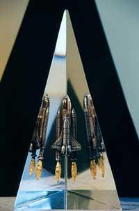пирамида с космодрома на мысе Каннаверел