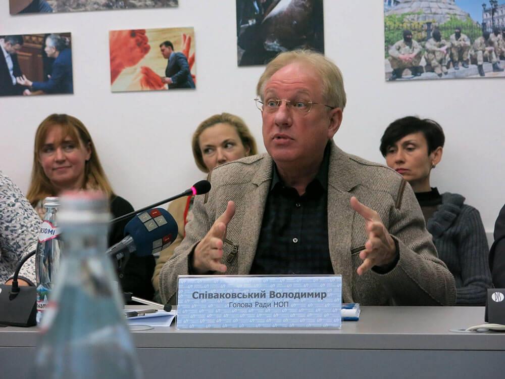 Владимир Спиваковский - Глава Совета НОП