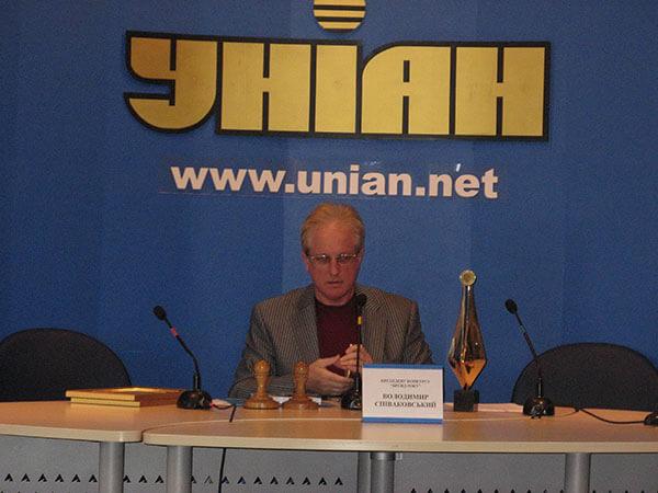 Владимир Спиваковский в агенстве УНИАН
