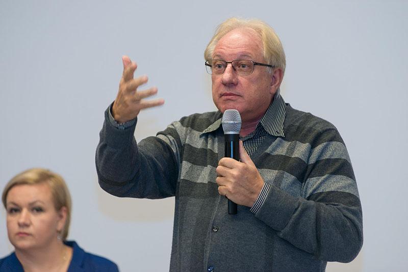 Выступление в немецком посольстве о реформах образования